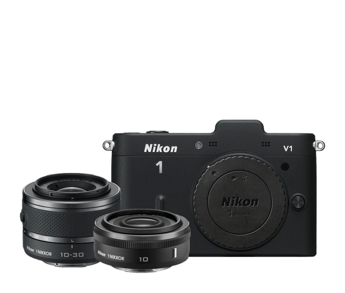 Nikon 1 V1 Two-Lens Wide Angle Kit