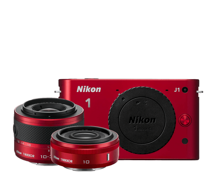 Nikon 1 J1 Two-Lens Wide Angle Kit