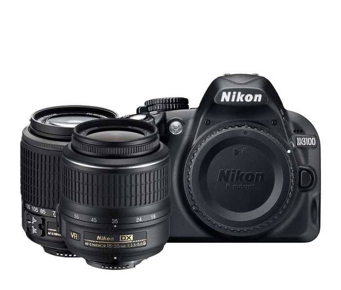 D3100 Two Lens Zoom Kit