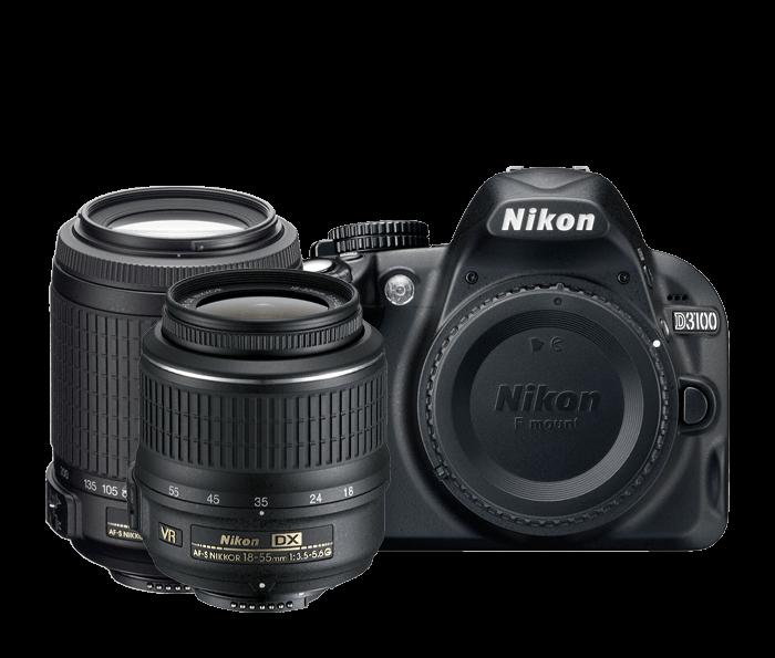 D3100 Two Lens VR Zoom Kit