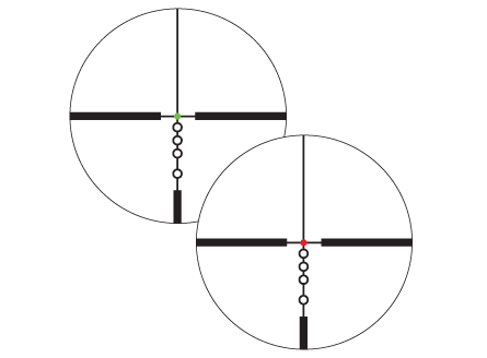 Illuminated BDC Reticle