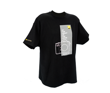 At the Heart of the Image Black T-Shirt