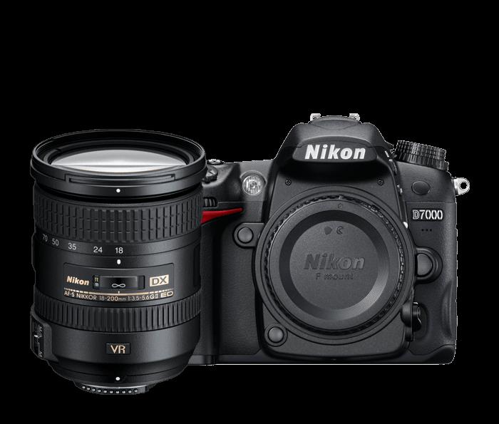 D7000 18-200mm VR Lens Kit
