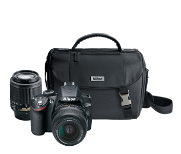 D3200 Double Zoom Lens and Case Kit
